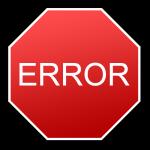Ошибки при открытии интернет магазина